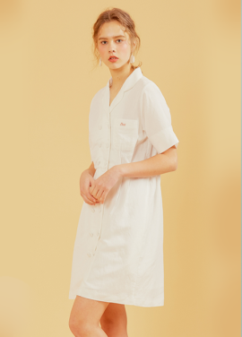 [erne/5% 할인] MARIE TAILORED ONEPIECE IVORY