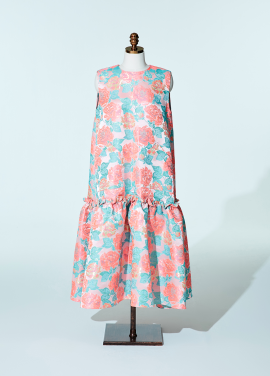 Amelie couture dress flower