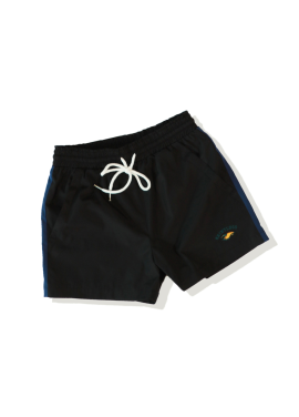 [SAINTLESS/30%] SPORTS SHORTS_BLACK