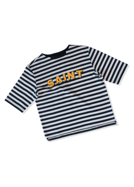 [SAINTLESS/30%] SAILOR LOGO T-SHIRTS_NAVY