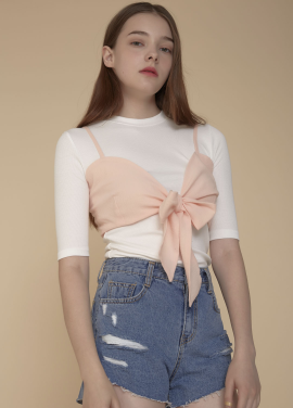 [ADDSENSE/50%SALE] JELLY TOP_PINK