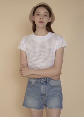 [ADDSENSE/50%SALE] SPRING BLOUSE _ WHITE