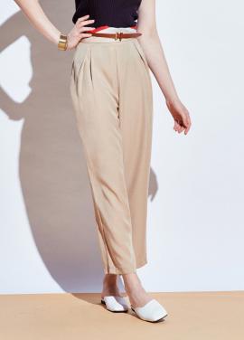 [URAGO]tencel loose-fit slacks