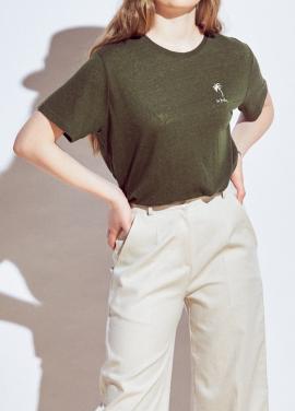[URAGO]basic palmiye t-shirts
