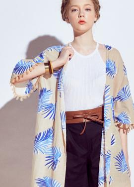 [URAGO]palmiye tassel robe