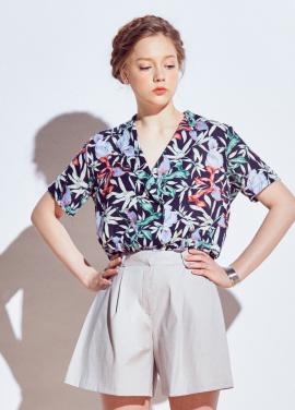 [URAGO]Hawaiian pattern shirts
