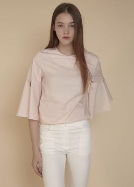 [ADDSENSE/50%SALE] PURE BLOUSE_ PINK