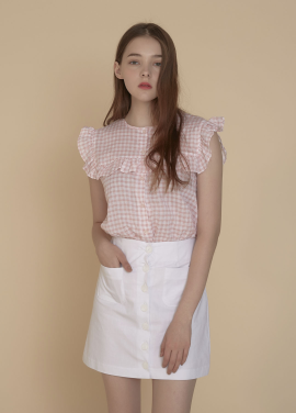 [ADDSENSE/50%SALE]PETIT SLEEVELESS SHIRT_ PINK