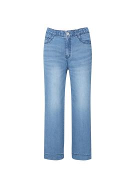 Light Blue Wide Denim Pants