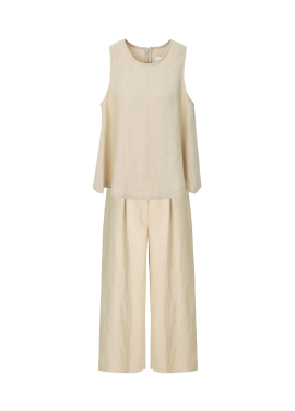 ★ Real Linen Two-Piece
