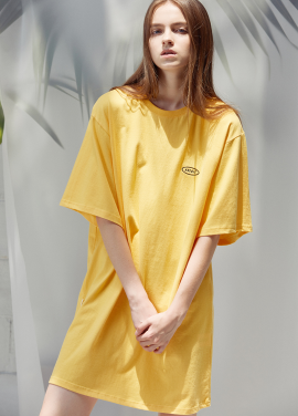 [ANEDIT/20%SALE]D TSHIRTS DRESS_YE
