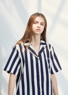 [ANEDIT/20%SALE]D STRIPE SHIRTS_WH