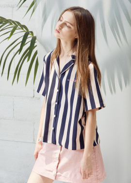 [ANEDIT/20%SALE]D STRIPE SHIRTS_LP