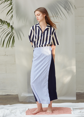 [ANEDIT/20%SALE]D WRAP LONGSKIRT_NV
