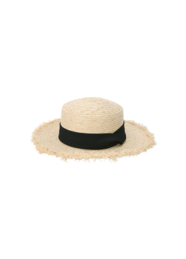 Side Cutting Detail Boater Hat