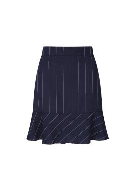 Stripe Patterned Mermaid Skirt