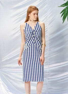 [SALON DE YOHN/20%SALE]Stripe String Dress