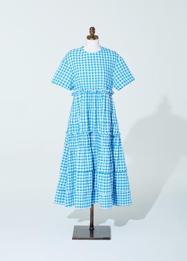[신상품] Amelie gingham check dress blue