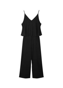 ★ Linen Sleeveless Jumpsuit