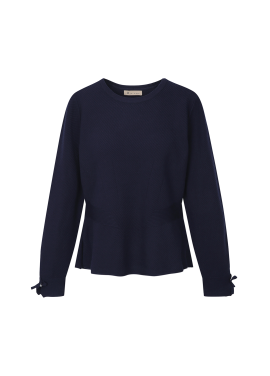Sleeve Pearl Detail Pullover