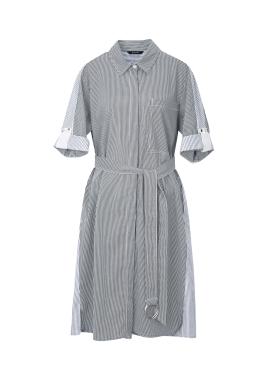 Stripe Shirts Style Dress
