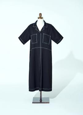 [AMELIE/신상품]JESSICA STITCH DRESS