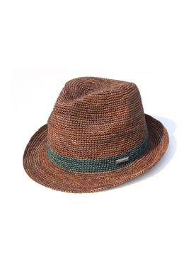 [WHITE SANDS/신상20%SALE] RAFFIA CANNES HAT BROWN WS17-017BR
