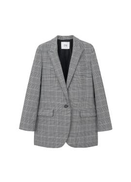 ◆ Mixed Check Pattern Jacket