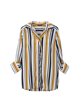 Multi Stripe Pattern Blouse