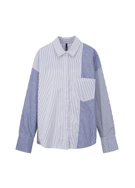 Multi Stripe Colorblock Shirts