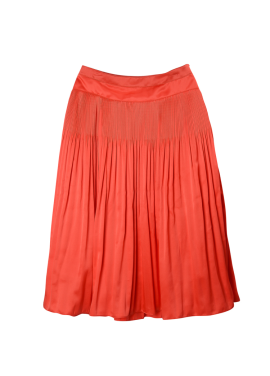 [SURREALBUTNICE] PLEATS SKIRT RED