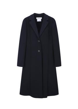 Back Side Slit Detail Long Coat