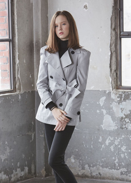 [JUST IN STYLE/시즌오프/50%+10%쿠폰] cotton twill BURBERRY (2color)