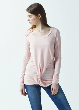 [저스트인스타일/SS시즌오프50%] 레이어드 티셔츠 (3color)