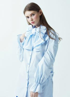 [저스트인스타일/SS시즌오프50%] 빅리본 셔츠 (3color)