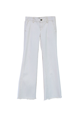 [SURREAL BUT NICE/시즌오프!/50%] BOOTS CUT PANTS IVORY
