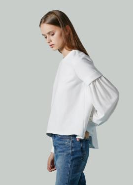 [저스트인스타일 / 단독특가 40%] 볼륨 레이어 티셔츠