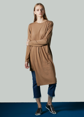 [JUST IN STYLE/시즌오프!/50%] H-line Wrap dress