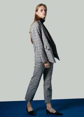 [JUST IN STYLE/시즌오프!/50%] Modern Check pants / 레인보우 지숙 착용