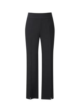 Waist Banding Slit Detail Pants