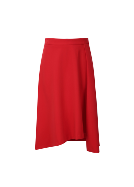 Unbalance Flare Skirt