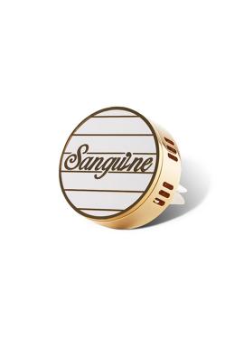 SANGUINE JEWELRY CLIP WHITE STRIPE A