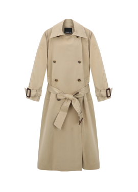 Double Button Long Trench Coat [정소민 착용]