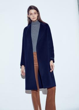 ◆ Handmade Basic Belted Coat