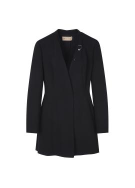 Collarless Slim Feminine Jacket
