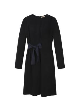 Waist Ribbon Detail Dress