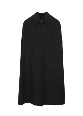 Black Pancho Coat
