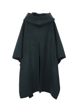 Hoodie Poncho Coat