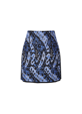 Leopard Patterned Mini Skirt