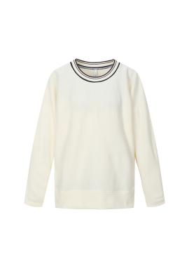 Wool Blend Round Neck T-Shirts